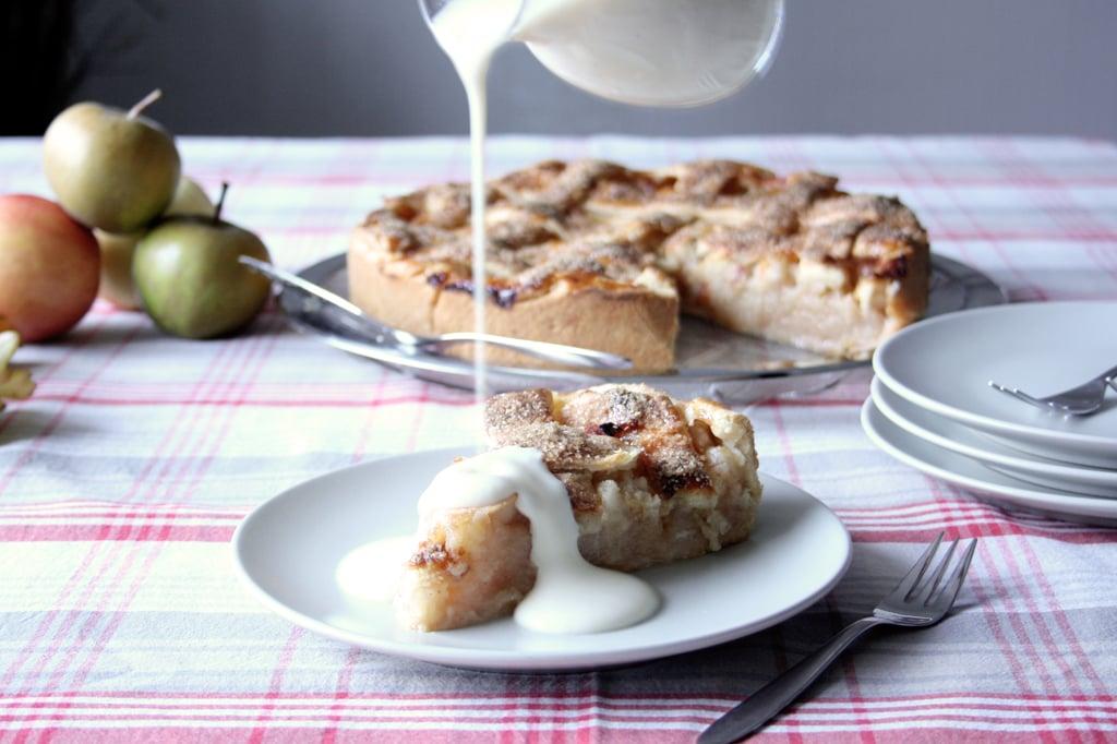 Zu Apple Pie passt am besten selbstgemachte Vanillesauce