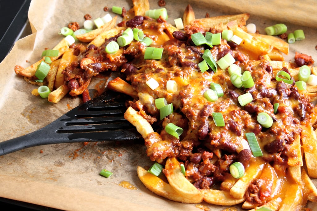Deftige Chili Cheese Fries #gilmoregirlssynchronkochen