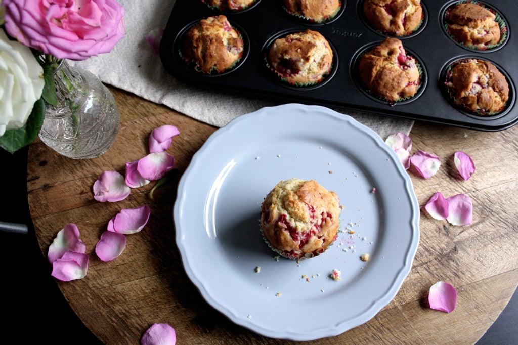 Fluffige und fruchtige Himbeer-Muffins