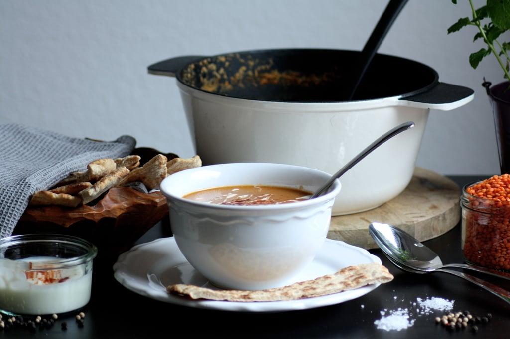 Rote Linsensuppe Suppe ist schnell zubereitet und super kalorienarm