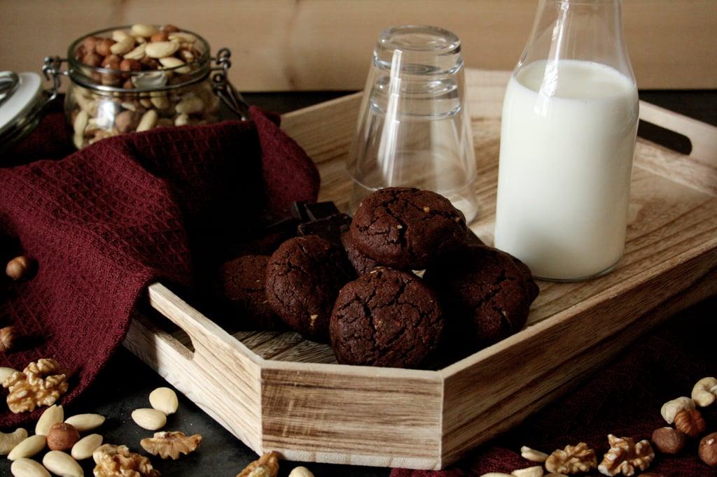 Schoko-Nuss-Cookies für den kleinen Glücksmoment zwischendurch