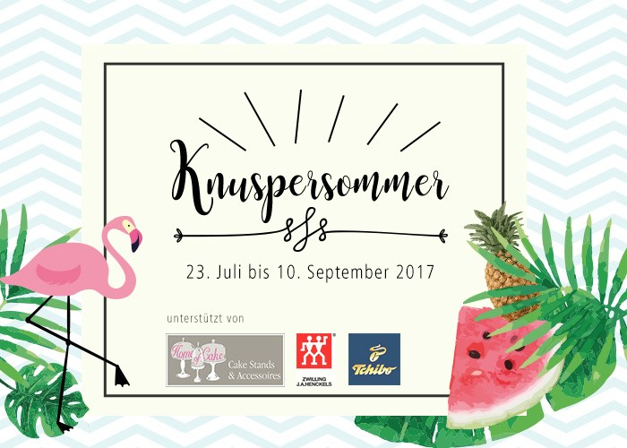 Knuspersommer 2017 Teilnahme carry on cooking