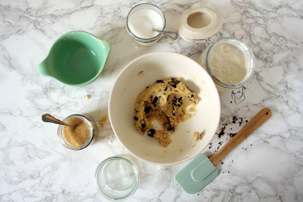 Zubereitung Klassische Chocolate Chip Cookies