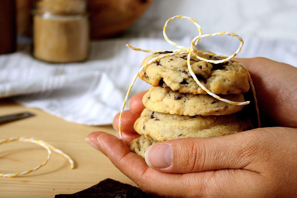 Klassische Chocolate Chip Cookies