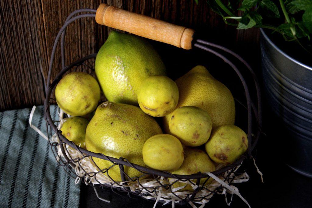 Zitronen für selbstgemachten Zitronensirup für Limonade und heiße Zitrone