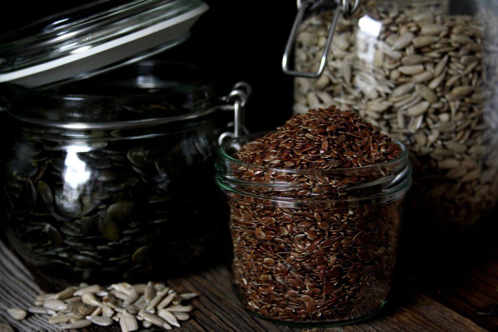 Zutaten für Schnelles Brot mit Kernen & Samen