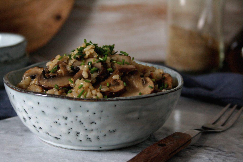 Schnelle One-Pot-Pilzpfanne