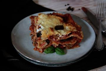 Vegetarische Ratatouille-Lasagne