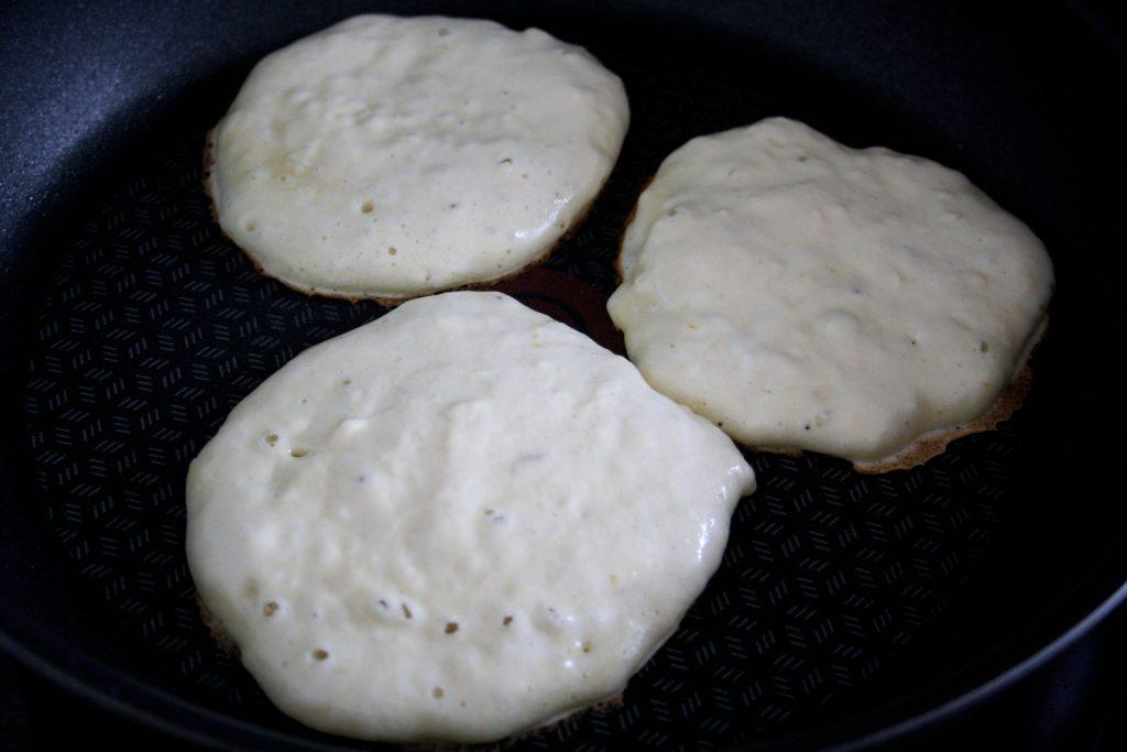 Fluffige Quark-Pfannkuchen