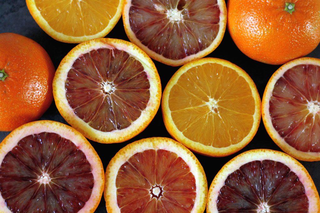 Blutorangen, Mandarinen und Orangen für meinen Orangen-Gugelhupf