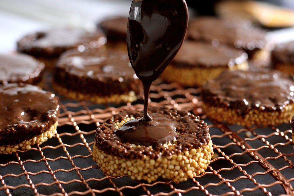 Glutenfreie Quinoataler - der ideale Snack für zwischendurch