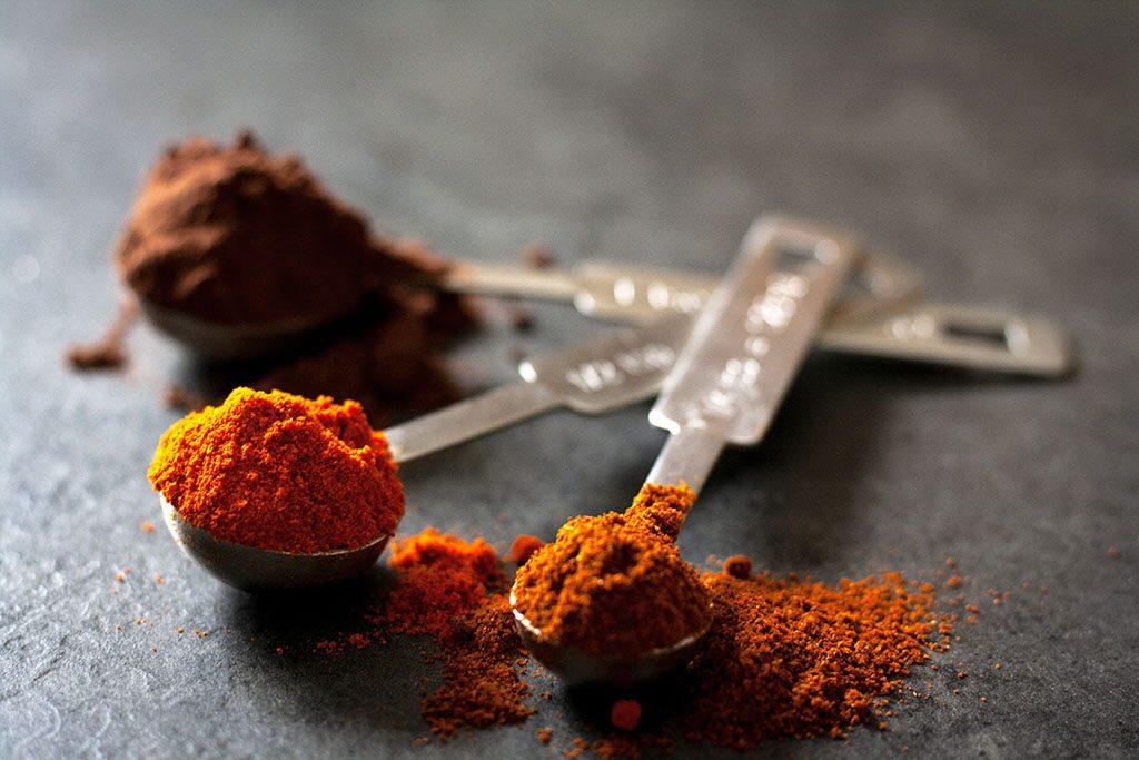 Gewürze für Chili con Kürbis