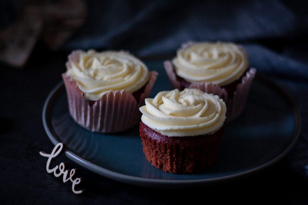 Red Velvet Cupcakes zum Verlieben