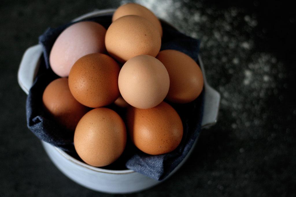 Hühnereier: Ohne Ei backen