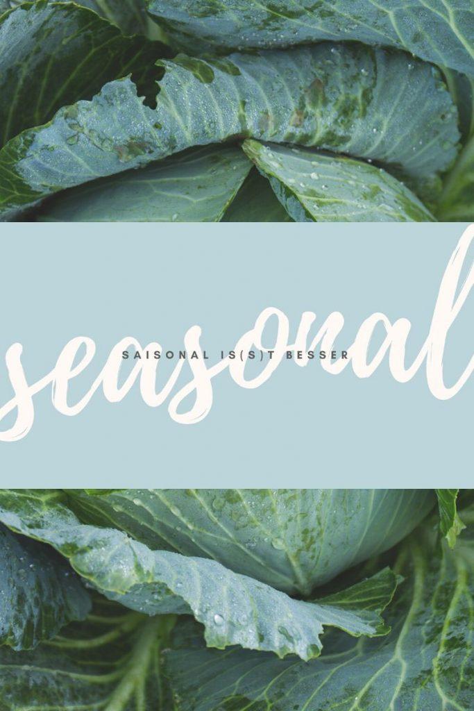 Bloggeraktion Saisonal is(s)t besser: Einfach saisonal kochen