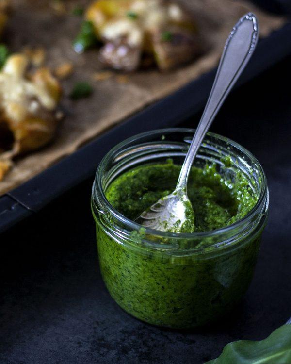 Veganes Pesto aus Bärlauch