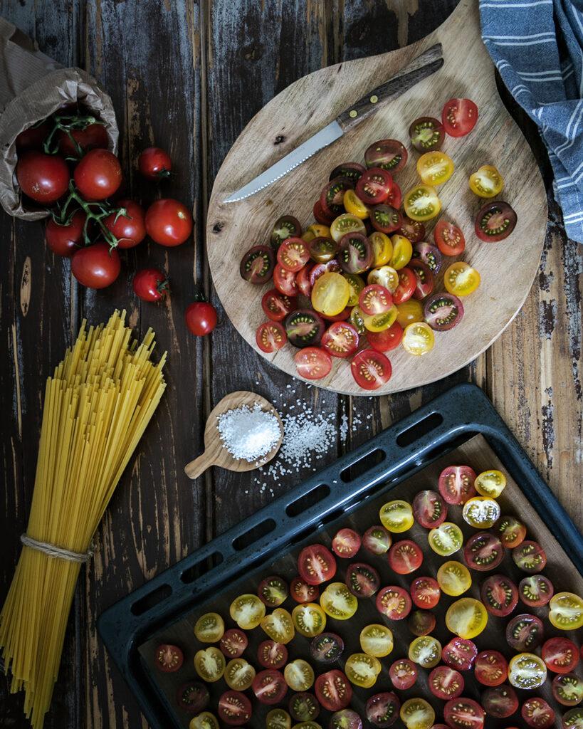 Karamellisierte Ofentomaten vom Blech - herrlich aromatisch und einfach gemacht