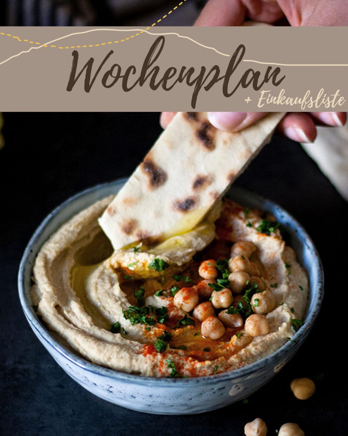 Wochenplan KW 44 | 6 einfache Rezepte für deinen Feierabend