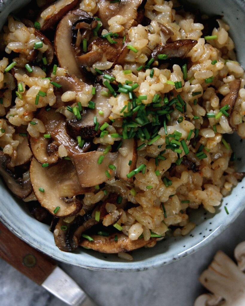 Einfache One-Pot-Pilzpfanne | Leckere Rezepte für deinen Wochenplan