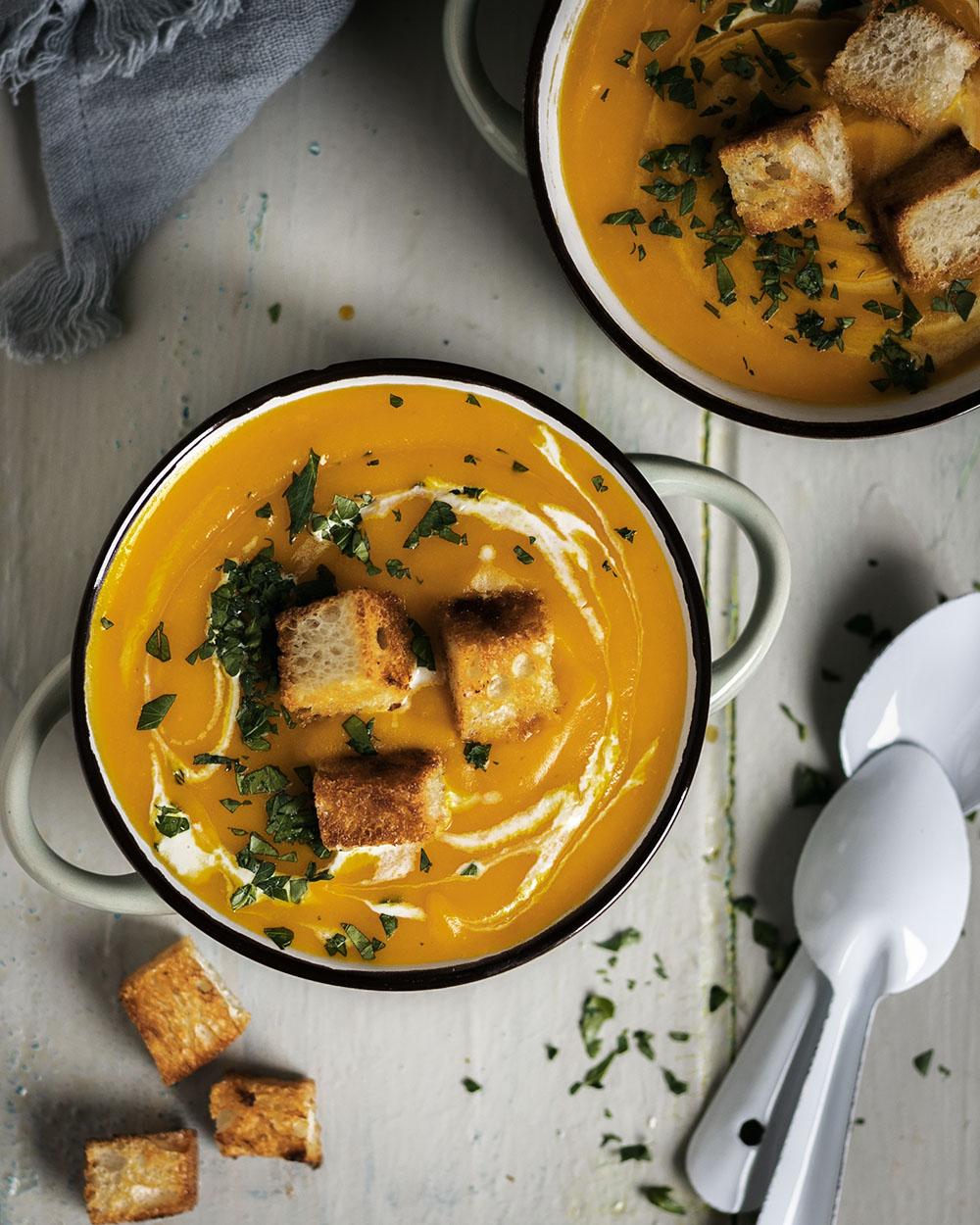 Was wäre der Herbst ohne Kürbisrezepte und vor allem ohne Kürbissuppe?