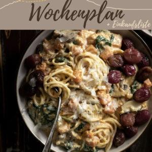Vegetarisch-veganer Wochenplan KW 2 | 6 leckere Rezepte für das Abendessen plus eine süße Überraschung