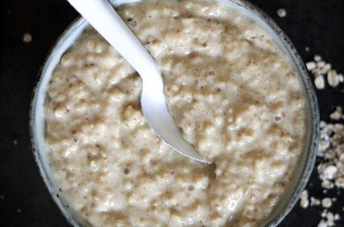 Grundrezept für veganes Porridge: Gesundes Poorifge endlich selber machen