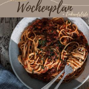 Vegetarisch-veganer Wochenplan KW 3 | 6 leckere Rezepte für das Abendessen plus eine süße Überraschung
