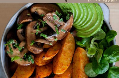 Kostenloser Wochenplan plus Einkaufsliste zum vegetarischen Wochenplan KW 4