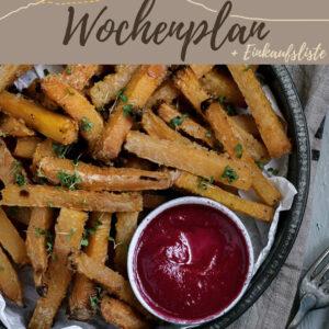 Vegetarisch-veganer Wochenplan KW 5 | Sechs leckere Rezepte fürs Abendessen & eine süße Überraschung
