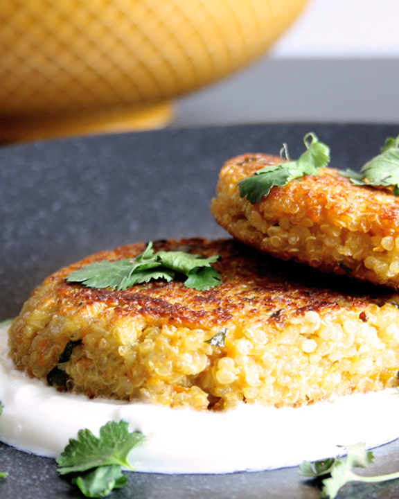 Leckere Quinoa-Bratlinge für den Wochenplan KW 7