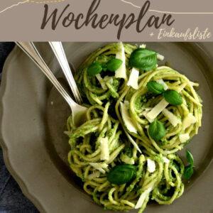 Vegetarisch-veganer Wochenplan KW 6 | Es wird rot & grün auf dem Teller
