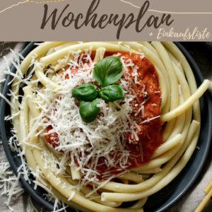 Vegetarisch-veganer Wochenplan KW 8 | Zeit für Frühling auf dem Teller