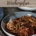 Kostenloser Wochenplan plus Einkaufsliste zum vegetarischen Wochenplan KW 9